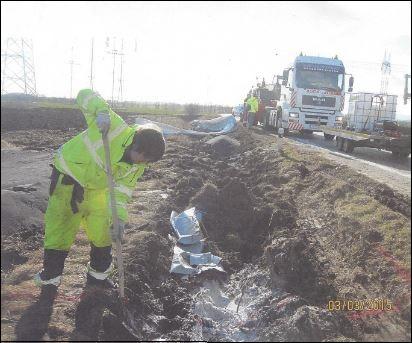 Odkop kontaminovanej zeminy